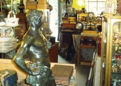 1920's Bronzes Statue