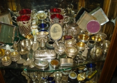 Silver Objects of Vertu various counties of origin mainly 19th Century.